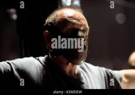 HANNIBAL [US 2001] ANTHONY HOPKINS as Hannibal Lecter     Date: 2001 - Stock Photo