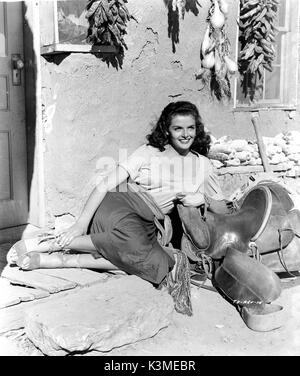 JANE RUSSELL [1921 -2011] American actress     Date: 2011 - Stock Photo