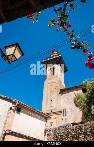 Valldemossa is a village on the island of Majorca, Balearic Islands, Spain. - Stock Photo