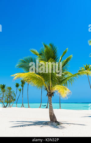 Juanillo Beach (playa Juanillo), Punta Cana, Dominican Republic. - Stock Photo