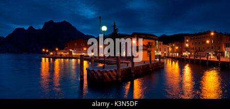 Torbole sul Garda, Lake Garda, Trento province, Trentino Alto Adige, Italy - Stock Photo