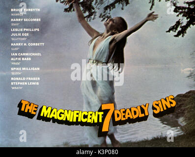 THE MAGNIFICENT SEVEN DEADLY SINS [BR 1971]     Date: 1971 - Stock Photo