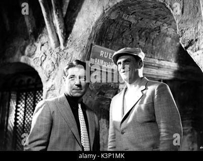 PEPE LE MOKO [FR 1937] JEAN GABIN, GABRIEL GABRIO     Date: 1937 - Stock Photo