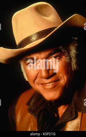 BONANZA [US TV SERIES 1959 - 1973] LORNE GREENE     Date: 1973 - Stock Photo