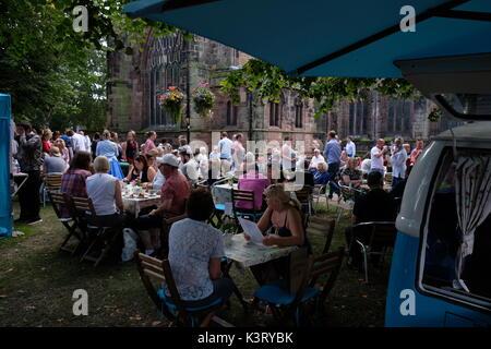 Nantwich Food Festival, Cheshire - Stock Photo