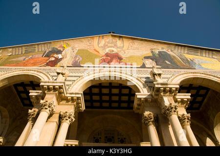 Church of All Nations, Jerusalem - Stock Photo