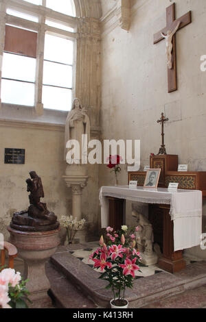 Trinity church in Falaise (France). - Stock Photo