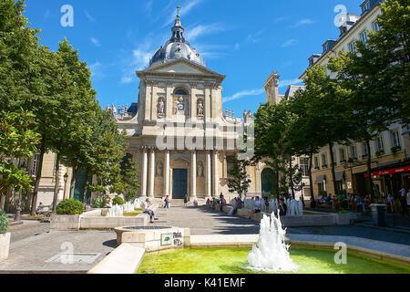 Sorbonne University,Paris,France - Stock Photo