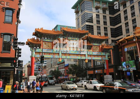 washington chinatown - Stock Photo