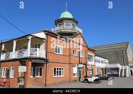 Clubhouse, Brooklands Museum, Weybridge, Surrey, England, Great Britain, United Kingdom, UK, Europe - Stock Photo