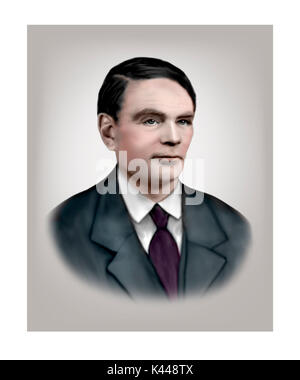 Alan Turing, 1912 - 1954, English Computer Scientist, Mathematician, Logician, Cryptanalyst - Stock Photo