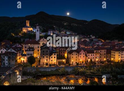 Campo Ligure, Province of Genoa, Liguria, Italy, Europe - Stock Photo