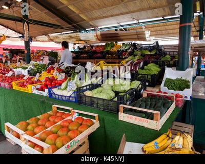 Rialto Market, Venice, Italy - Stock Photo