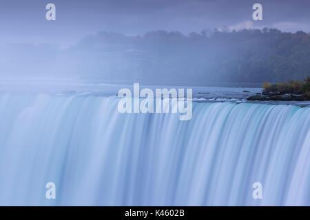 Canada, Ontario, Niagara Falls, Horseshoe Falls, dawn - Stock Photo