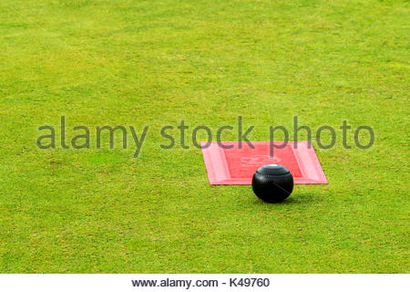 Bowls Lawn Bowls Sport Britain Uk Stock Photo 7472622