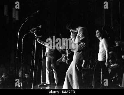 The psychedelic group The Alan Bown! performs in the Anson Rooms at Bristol University's Students Union on 19 October - Stock Photo