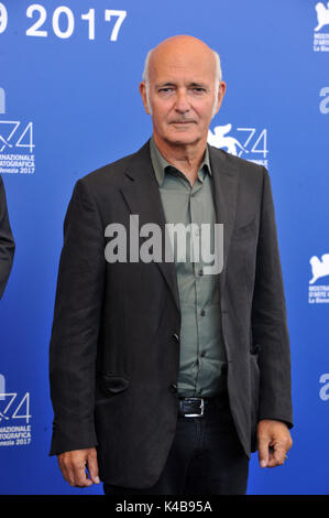 Venice, Ita. 05th Sep, 2017. 74th Venice Film Festival 2017 Photocall film 'The Third Murder' Pictured Ludovico - Stock Photo
