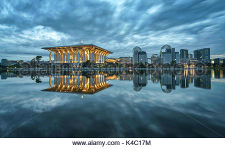 Putrajaya, the quite city - Stock Photo