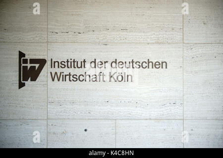 Institute Of The German Economy Cologne - Stock Photo