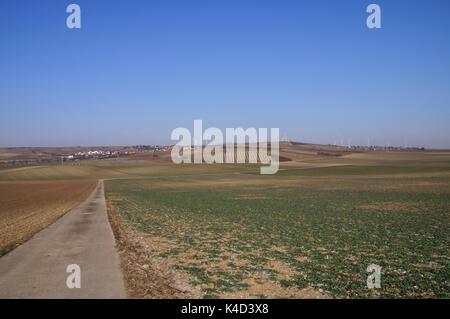 Landscape In Rhinehesse - Stock Photo