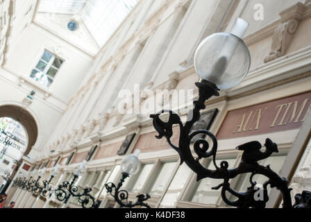 Passage Pommeraye shopping mall, Nantes, Pays de la Loire, France - Stock Photo