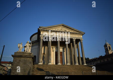 Gran Madre - Turin, Piedmont, Italy - Stock Photo