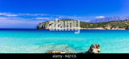 Beautiful Voulisma beach,Crete island,Greece. - Stock Photo