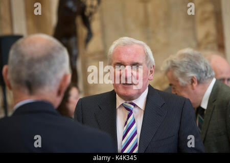 Dublin, Ireland. 6th Sep, 2017. Patrick Bartholomew (Bertie) Ahern is a former Irish Fianna Fáil politician who - Stock Photo