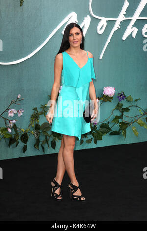 London, UK. 06th Sep, 2017. Linzi Stoppard, Mother! - UK Film Premiere, Leicester Square, London UK, 06 September - Stock Photo