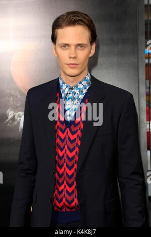 Los Angeles, CA, USA. 5th Sep, 2017. Bill Skarsgard at arrivals for IT Premiere, TCL Chinese Theatre (formerly Grauman's), - Stock Photo