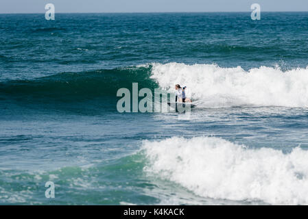 San Clemente, USA. 06th Sep, 2017. Round one of surfing at the 2017 Swatch Women's Pro at Lower Trestles, San Onofre - Stock Photo