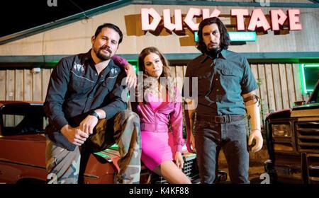 LOGAN LUCKY (2017)  CHANNING TATUM  RILEY KEOUGH  ADAM DRIVER  STEVEN SODERBERGH (DIR)  TRANSRADIAL/MOVIESTORE COLLECTION - Stock Photo