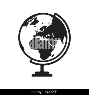 India map icon flat vector illustration india sign symbol with abstract india map globe icon vector with asia africa and europe map flat icon isolated on the white gumiabroncs Image collections
