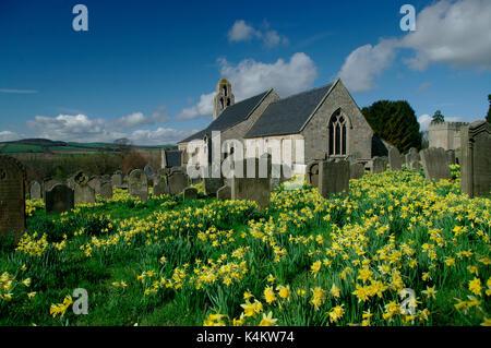 Ford Church Northumberland - Stock Photo