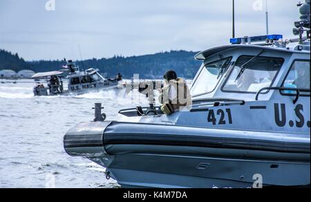 Coastal Riverine Squadron (CRS) - Stock Photo