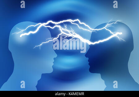 brainstorming ideas concept - Stock Photo