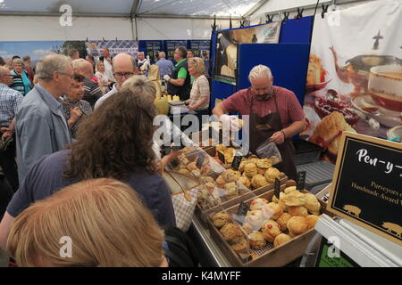 Nantwich Food Festival, Cheshire  September 2017 - Stock Photo
