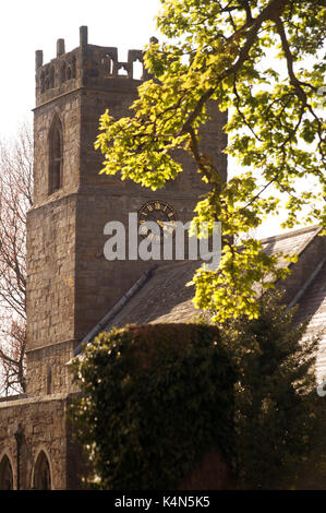 Holy Trinity Church, Embleton, Northumberland - Stock Photo