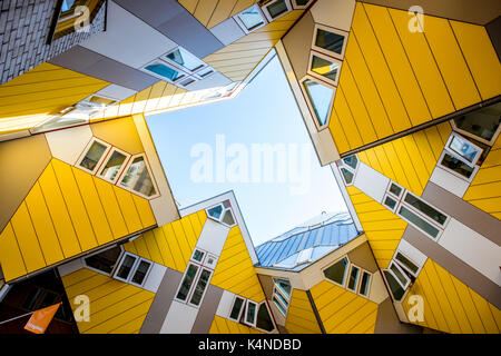 Cube house in Rotterdam - Stock Photo