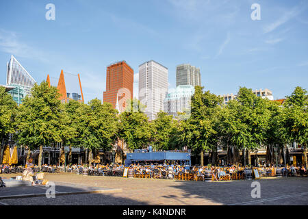 Haag city in Netherlands - Stock Photo