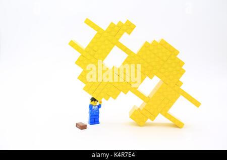 lego money - Stock Photo