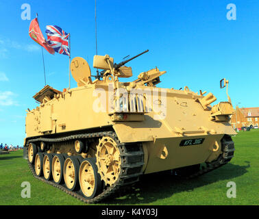 British Army 432 Tank, deployed in 1st Iraq War, military, vehicle, vehicles, England, UK armoured personel carrier - Stock Photo
