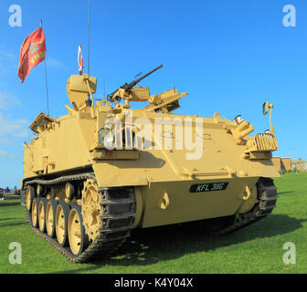 British Army 432 Tank, deployed in 1st Iraq War, military vehicle, vehicles, England, UK armoured personell personel - Stock Photo