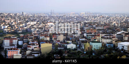 Istanbul aerial view - Stock Photo