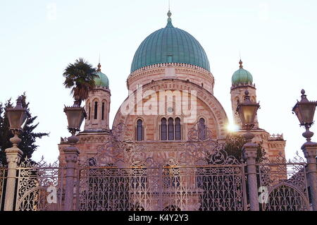 Great Synagogue of Florence, Italy - Stock Photo