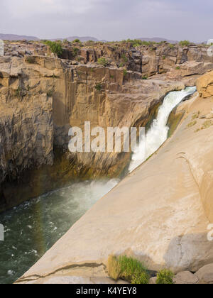 Waterfall of the River Oranje, Augrabies Falls NP, North Cape, South Africa - Stock Photo