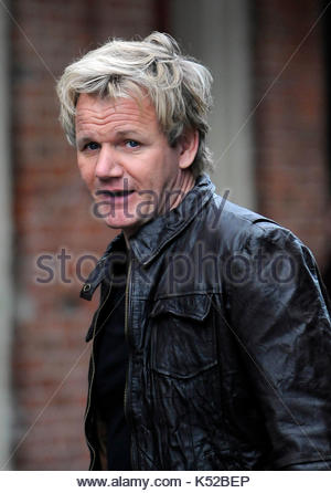 Gordon Ramsay. Celebrity chef Gordon Ramsay films \
