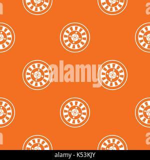 Casino gambling roulette pattern seamless - Stock Photo