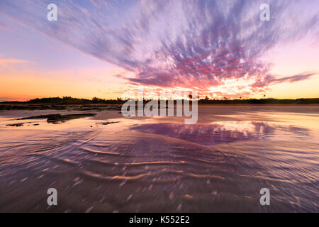 Cable Beach at sunrise. - Stock Photo
