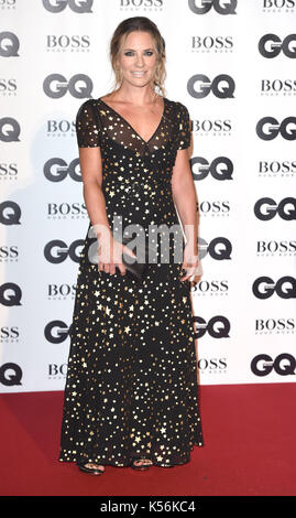 Photo Must Be Credited ©Alpha Press 079965 05/09/2017 Georgie Thompson GQ Men Of The Year Awards 2017 at Tate Modern - Stock Photo